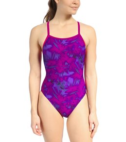 Waterpro Purple Paintball One Piece Swimsuit