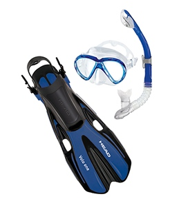 HEAD Marlin Mask, Snorkel and Fin Set