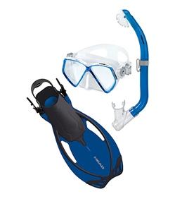 HEAD Pirate Jr Mask Snorkel and Fin Set