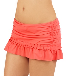 Kenneth Cole Reaction Pleats Charming Skirted Bottom