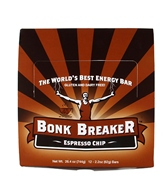 Bonk Breaker Espresso Chip Energy Bars (Box of 12)