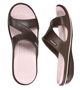 Crocs Women's CrocsTone Emma Wedge Sandals