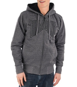 Billabong Men's Broadway Sherpa Zip Up Hoodie