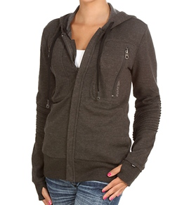 Rusty Girls' Captain A Wired Zip Up Hoodie