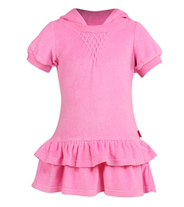 Seafolly Girls' Vintage Vacation Hoodie Dress
