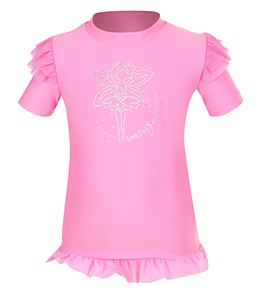 Seafolly Girls' Fairytale S/S Rash Guard