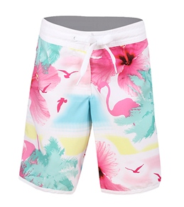 Seafolly Girls' Flamenco Mid Length Boardshorts