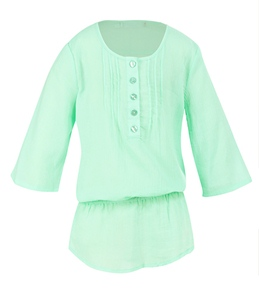 Seafolly Girls' Flamenco Button Tunic