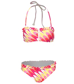 Seafolly Girls' Sugar Fix Bandeau Set