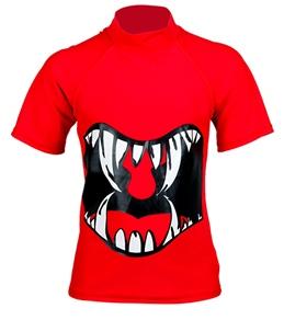 Tiger Joe Boys' Jaw Breaker S/S Rash Guard