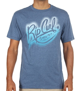 Rip Curl Guys' Spray Can Heather S/S T-Shirt