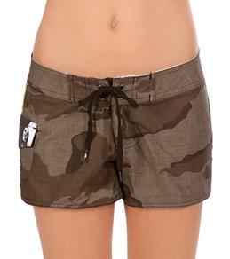 "Billabong Girls' Smile Jamaica 2.5"" Board Shorts"