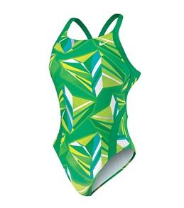Nike Swim Jagged Geo Modern Fast Back Tank