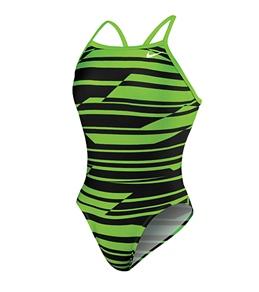 Nike Swim Shadow Stripe Classic Lingerie Tank