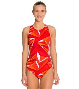 Nike Swim Jagged Geo Water Polo Tank