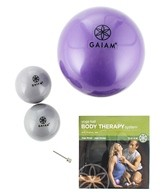 Gaiam Yoga Ball Body Therapy System With Rodney Yee