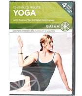 Gaiam 15 Minute Results Yoga DVD