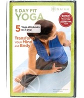 Gaiam 5 Day Fit: Yoga DVD with Suzanne Deason and Rod Stryker