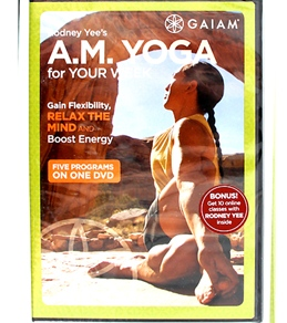 Gaiam A.M. Yoga for Your Week DVD