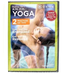 Gaiam AM/PM Yoga For Beginners DVD