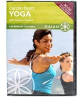 Gaiam Cardio Burn Yoga DVD
