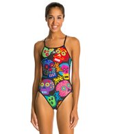 Turbo Skulls One Piece Swimsuit