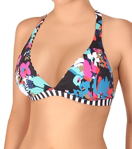 Roxy Wild at Heart Reversible D Cup Halter Top