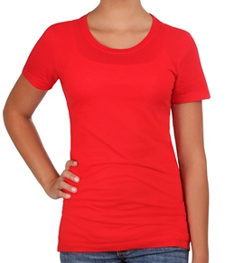 Hurley Girls Solid Perfect S/S T-Shirt