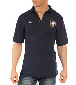 Turbo Men's USA Navy Replica Polo Shirt