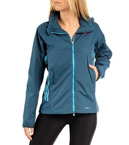 Adidas Outdoor Women's Terrex Swift 2 Layer CPS Mesh Lined Running Jacket