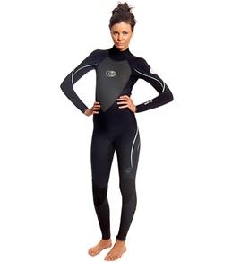 Rip Curl Women's G-Bomb Back Zip 4/3 Wetsuit