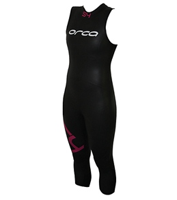 Orca Women's S4 Sleeveless Triathlon Wetsuit