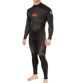 Quiksilver Men's Syncro 4/3mm L/S Back Zip Full Wetsuit