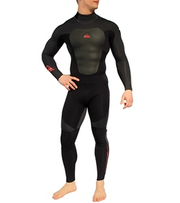 Quiksilver Men's Cypher 3/2mm L/S Back Zip Full Wetsuit