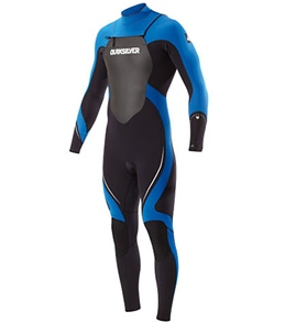 Quiksilver Men's Syncro 3/2mm L/S Chest Zip Full Wetsuit