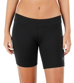 "Moving Comfort Women's 7 1/2"" Compression Running Shorts"