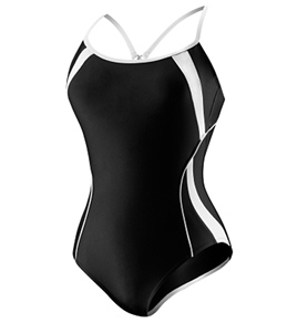 Speedo Spiral Splice Clip Back with Hydro Bra