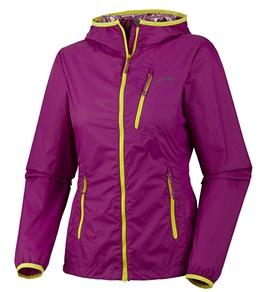 Columbia Women's Trail Fire Windbreaker Running Jacket