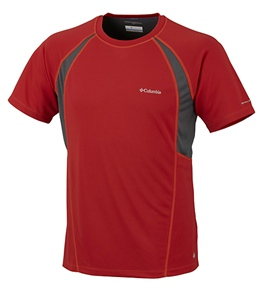 Columbia Men's Insight Ice Mesh Short Sleeve Running Shirt