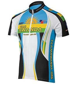 Louis Garneau Men's Rwanda Team Cycling Jersey