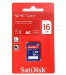 SanDisk 16GB SD Card Class 4