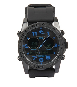 Rip Curl Cortez Tidemaster2 Silicone Band Watch