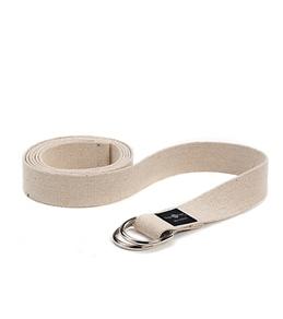 Hugger Mugger 10' Hemp Yoga Strap w/ D-Ring