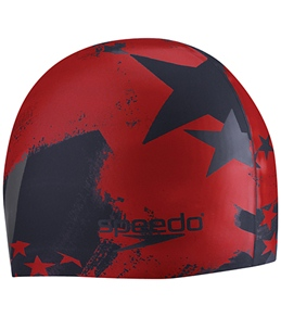Team Speedo Home of the Fast Swim Cap (Americana)