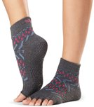 Toesox Half-Toe with Grip Yoga Socks