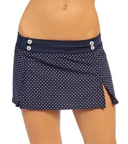 Nautica Malibu Blue Skirted Pant Bottom