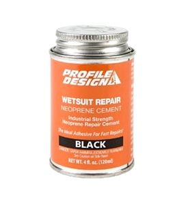 Profile Design Wetsuit Seal Cement 4oz Can Black