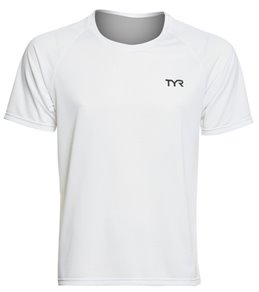 TYR Carbon Men's Short Sleeve Running Shirt