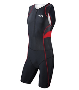 TYR Competitor Men's Trisuit with Front Zipper