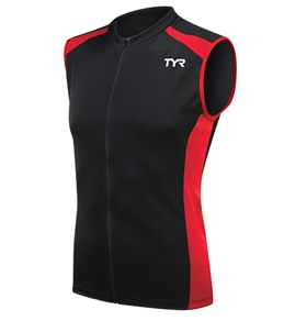 TYR Competitor Men's VLO Sleeveless Cycling Jersey